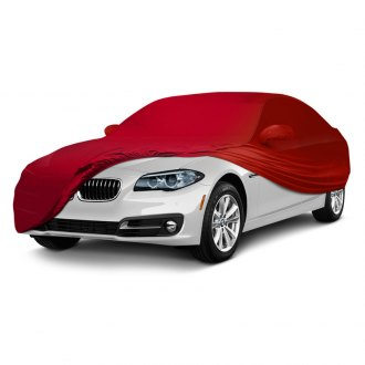 Coverking® - Satin Stretch™ Indoor Custom Red Car Cover