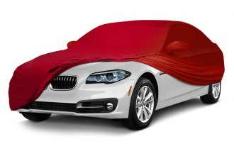 Coverking® CVC3SS94FD9681 - Satin Stretch™ Indoor Custom Red Car Cover