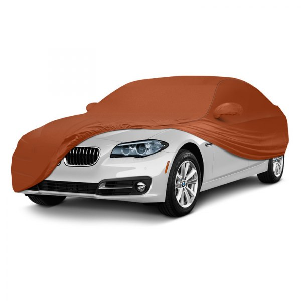 Coverking® - Satin Stretch ™ Custom Rust Orange Car Cover