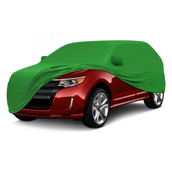 Coverking® - Satin Stretch ™ Custom Synergy Green Car Cover