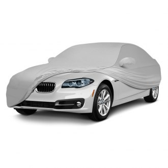 Coverking® - Satin Stretch™ Indoor Custom Pearl White Car Cover