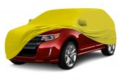 Coverking® - Satin Stretch ™ Custom Yellow Car Cover