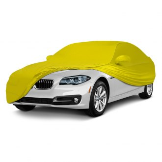 Coverking® - Satin Stretch™ Indoor Custom Yellow Car Cover