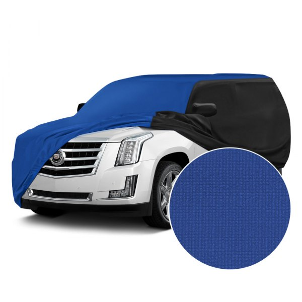 Coverking® - Satin Stretch™ Grabber Blue with Black Custom Car Cover