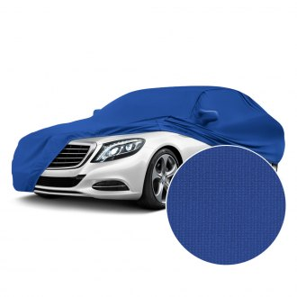 Coverking® - Satin Stretch™ Indoor Grabber Blue Custom Car Cover