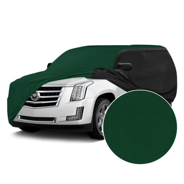 Coverking® - Satin Stretch™ Green with Black Custom Car Cover