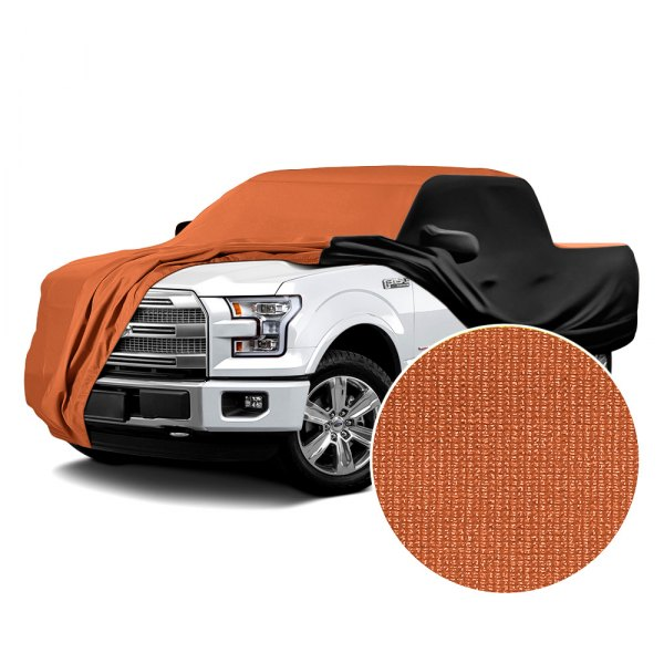 Coverking® - Satin Stretch™ Inferno Orange with Black Custom Car Cover