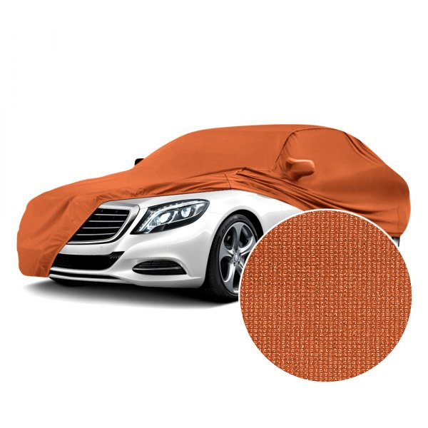 Coverking® - Satin Stretch™ Inferno Orange Custom Car Cover
