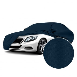 Coverking® - Satin Stretch™ Indoor Navy Blue Custom Car Cover