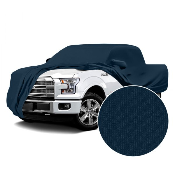 Coverking® - Satin Stretch™ Navy Blue Custom Car Cover