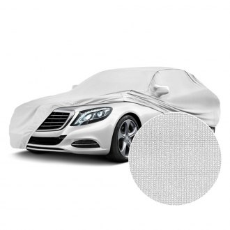 Coverking® - Satin Stretch™ Indoor Pearl White Custom Car Cover