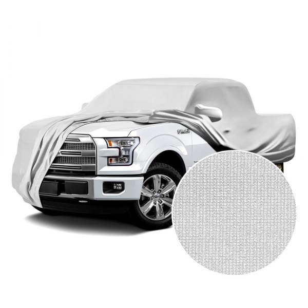 Coverking® - Satin Stretch™ Pearl White Custom Car Cover