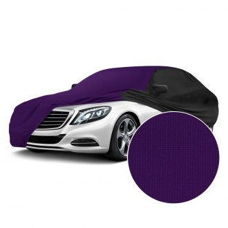 Coverking® - Satin Stretch™ Indoor Plum Crazy Purple Custom Car Cover with Black