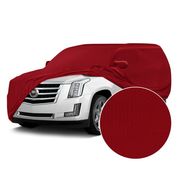 Coverking® - Satin Stretch™ Pure Red Custom Car Cover