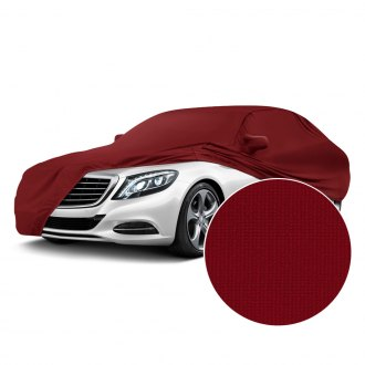 Coverking® - Satin Stretch™ Indoor Ruby Red Custom Car Cover