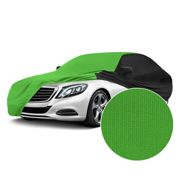 Coverking® - Satin Stretch™ Synergy Green with Black Custom Car Cover