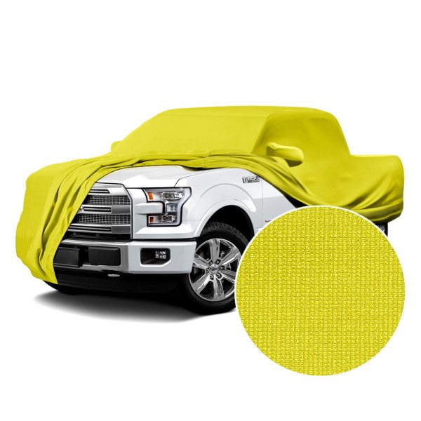 Coverking® - Satin Stretch™ Yellow Custom Car Cover