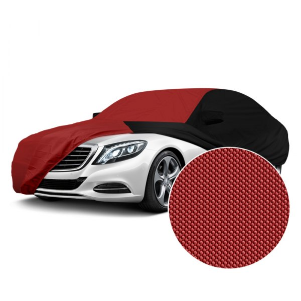Coverking® - Stormproof™ Red with Black Sides Custom Car Cover