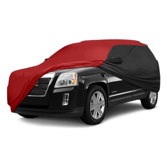 Coverking® - Stormproof™ Custom Red Car Cover with Black Sides