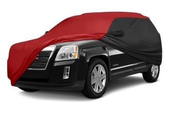 Coverking® CVC6SP294TT2601 - Stormproof™ Custom Red Car Cover with Black Sides