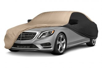 Coverking® CVC3SP296CH2464 - Stormproof™ Custom Tan Car Cover with Black Sides