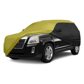 Coverking® - Stormproof™ Custom Yellow Car Cover with Black Sides