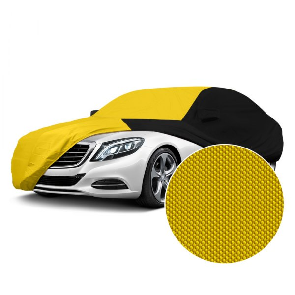 Coverking® - Stormproof™ Yellow with Black Custom Car Cover