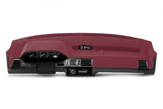 Coverking® CDCP7GM104 - Red Polycarpet Custom Dash Cover
