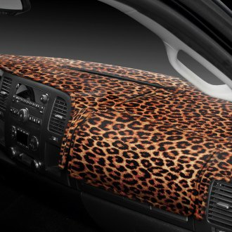 Coverking® - Designer Velour Cheetah Custom Dash Cover
