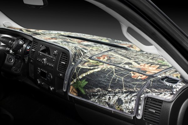 Coverking® - Designer Velour Mossy Oak Custom Dash Cover