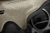 Image may not reflect your exact vehicle! Coverking® - Beige Molded Carpet Custom Dash Cover