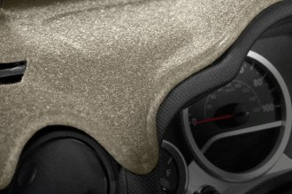 Image may not reflect your exact vehicle! Coverking® -Molded Carpet Beige Custom Dash Cover