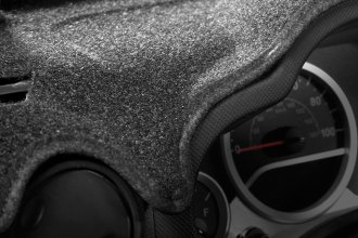 Image may not reflect your exact vehicle! Coverking® - Molded Carpet Charcoal Custom Dash Cover
