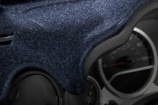 Image may not reflect your exact vehicle! Coverking® - Dark Blue Molded Carpet Custom Dash Cover