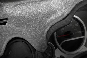 Image may not reflect your exact vehicle! Coverking® - Molded Carpet Gray Custom Dash Cover