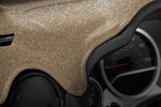 Image may not reflect your exact vehicle! Coverking® - Molded Carpet Tan Custom Dash Cover