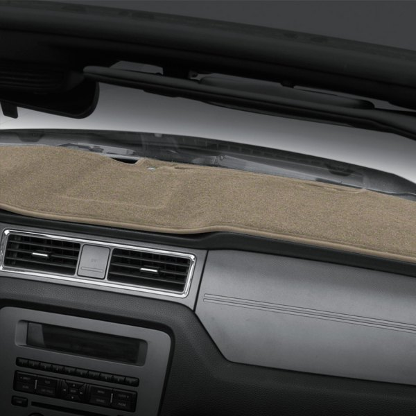Image may not reflect your exact vehicle! Coverking® - Polycarpet Beige Custom Dash Cover