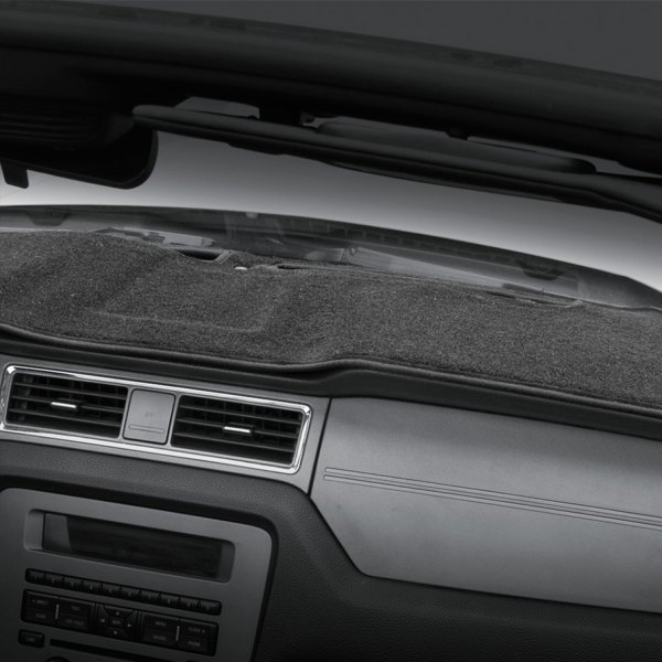 Image may not reflect your exact vehicle! Coverking® - Polycarpet Charcoal Custom Dash Cover