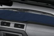 Image may not reflect your exact vehicle! Coverking® - Polycarpet Dark Blue Custom Dash Cover