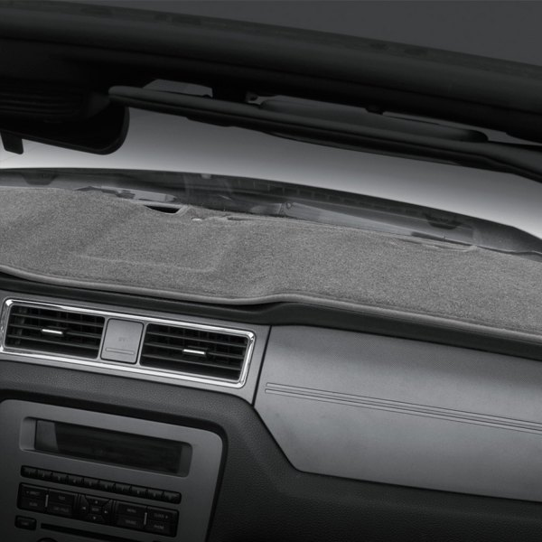 Image may not reflect your exact vehicle! Coverking® - Polycarpet Gray Custom Dash Cover