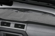 Coverking® CDCP3KI7072 - Gray Polycarpet Custom Dash Cover
