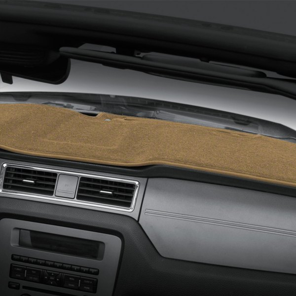 Coverking® - Tan Polycarpet Custom Dash Cover