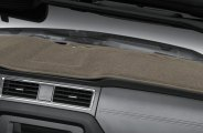Coverking® CDCP15CD032 - Taupe Polycarpet Custom Dash Cover
