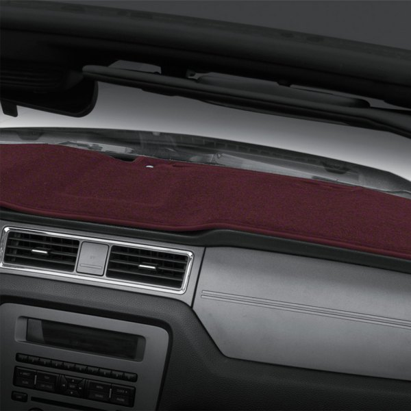 Image may not reflect your exact vehicle! Coverking® - Polycarpet Wine Custom Dash Cover