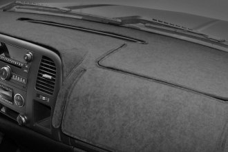 Image may not reflect your exact vehicle! Coverking® - Suede Charcoal Custom Dash Cover