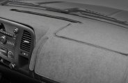 Coverking® CDCC3TT9605 - Gray Suede Custom Dash Cover