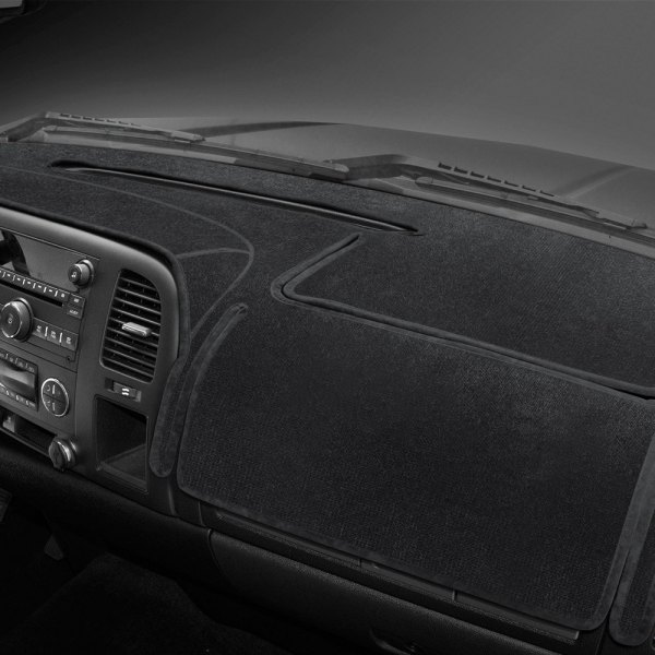 Coverking® - Black Velour Custom Dash Cover