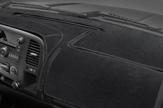 Image may not reflect your exact vehicle! Coverking® - Velour Black Custom Dash Cover