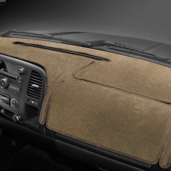 Coverking® - Velour Oak Custom Dash Cover