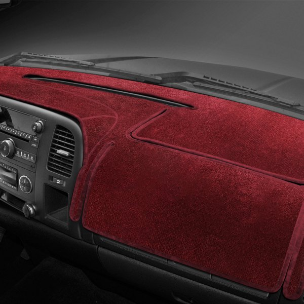 Coverking® - Red Velour Custom Dash Cover